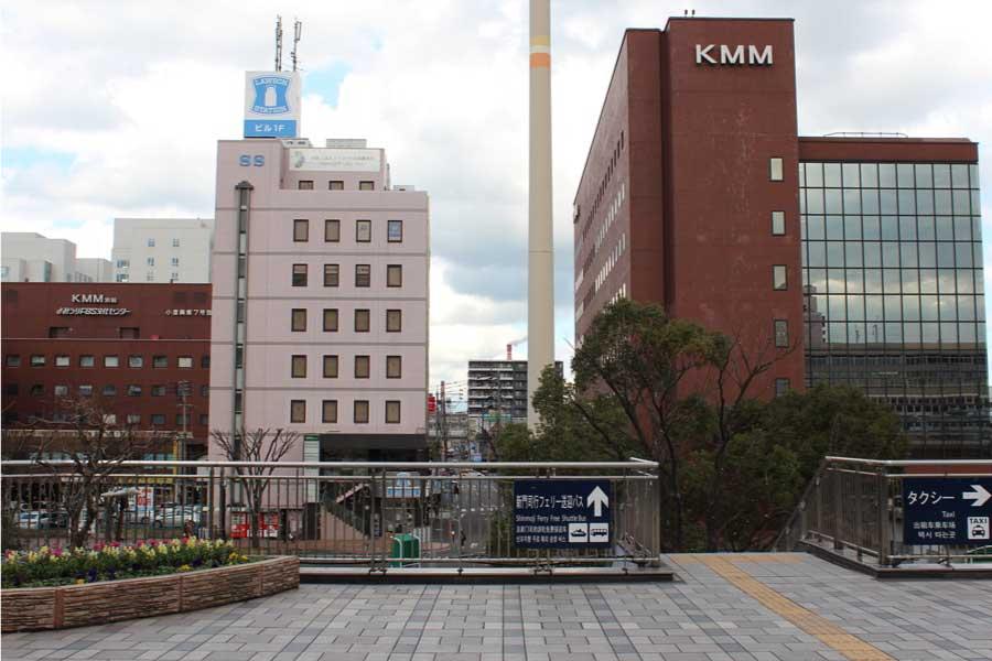 小倉駅からのSSビル外観画像