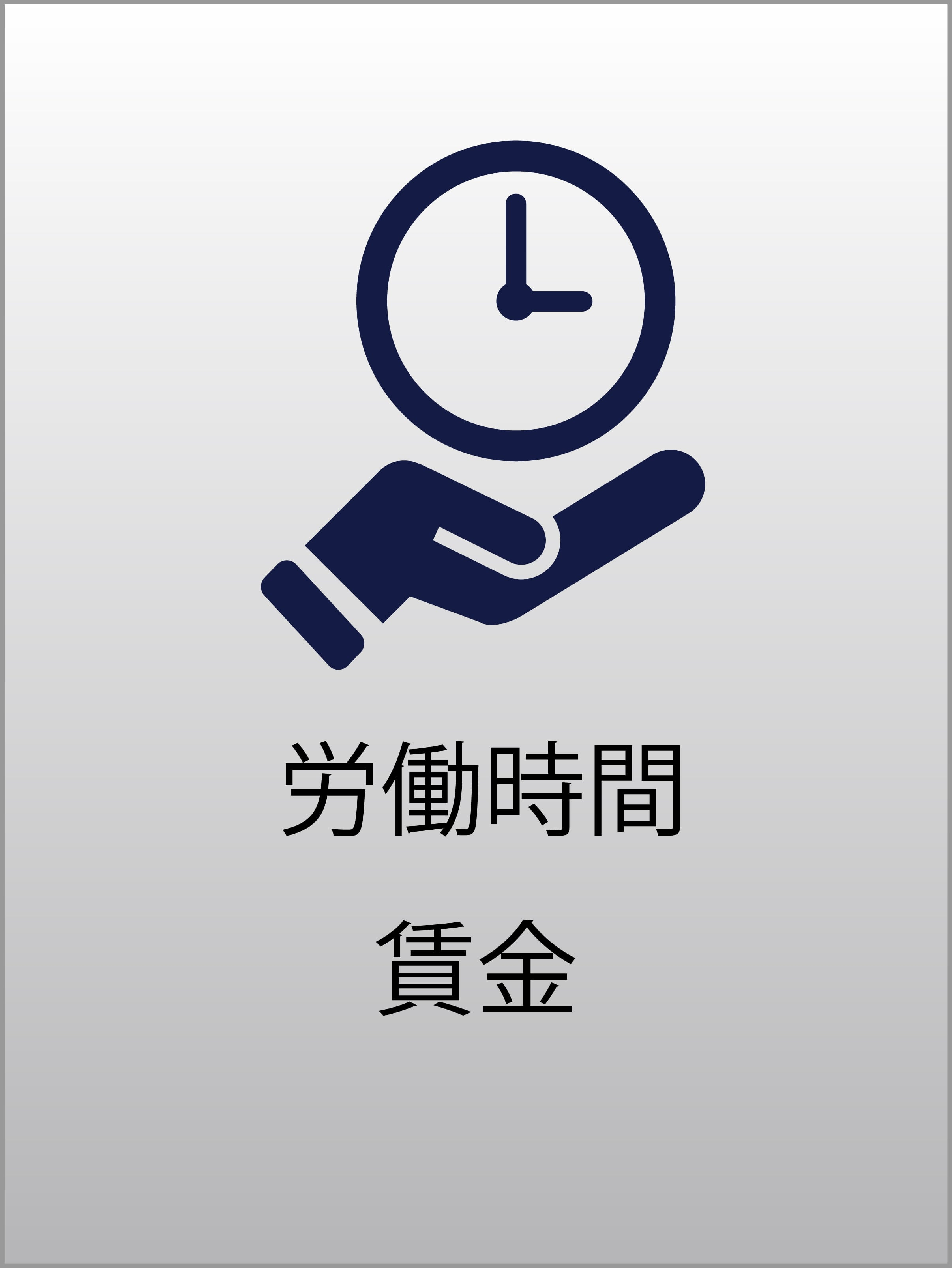 労働時間・賃金